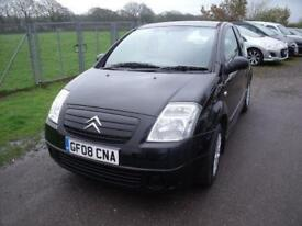 CITROEN C2 COOL - FSH Black Manual Petrol, 2008
