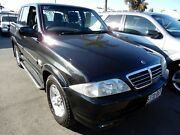 2006 Ssangyong Musso Sports Black 5 Speed Manual Utility Enfield Port Adelaide Area Preview