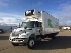 2017 International 4300 SBA 4X2, Used Reefer Van