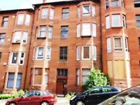 Traditional One Bedroom 1st floor tenement flat Aberfoyle St Dennistoun - Available 13-04-2018