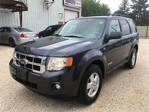 2008 Ford Escape XLT LIMITED 4WD LEATHER HEATED SEATS