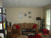 3 bdrm 1200 sq ft apartment first level near west campus