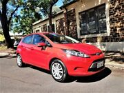 2010 Ford Fiesta WS CL Red 5 Speed Manual Hatchback Medindie Walkerville Area Preview