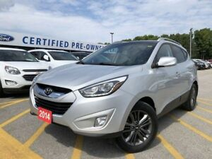 2014 Hyundai Tucson GLS BLUETOOTH|SUNROOF|HEATED SEATS|REAR C...