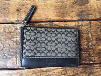 Womans coach wallet