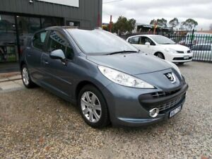 2007 Peugeot 207 A7 XE Silver 4 Speed Sports Automatic Hatchback Bayswater North Maroondah Area Preview