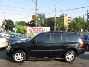 **2007 GMC Envoy**  Black with Black leather, Cert.   & E-tested