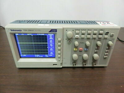 Tektronix Tds 2001c Two Channel Digital Storage Oscilloscope 50 Mhz 500 Mss