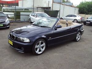 2002 BMW 330Ci E46 Dark Blue 5 Speed Auto Steptronic Convertible Punchbowl Canterbury Area Preview