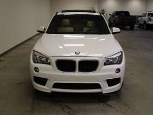 2015 BMW X1 PANORAMIC SUNROOF, AWD, WINTER TIRES, LEATHER, HEA