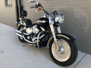 2003 Harley-Davidson FAT BOY 88 (FLSTF) Road Bike 1449cc Tempe Marrickville Area Preview