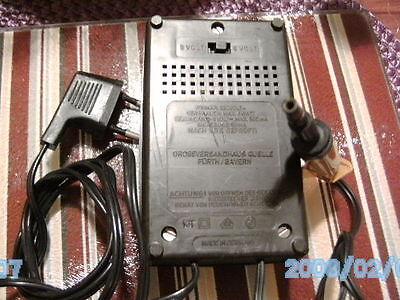adapter 6volt - 9 volt . 600 ma