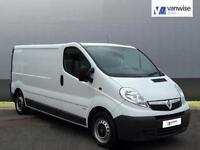 2014 Vauxhall Vivaro 2900 CDTI LWB Diesel white Manual