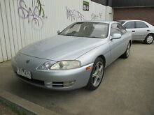 1994 Toyota Soarer SC300 Silver 4 Speed Automatic Coupe Tottenham Maribyrnong Area Preview