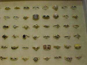 UNDER $100.00**175** GOLD/DIAMOND/SEMI-PRECIOUS RINGS