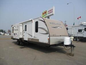 **$114 b/w (oac)** COUPLE'S TRAILER, DUAL SLIDES, REAR ENT!