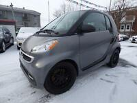 2013 SMART FORTWO PASSION (TOIT PANO, BLUETOOTH, MAGS, FULL!!!)