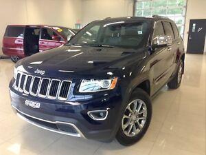 2014 Jeep Grand Cherokee Limited 4X4 CUIR TOIT GPS BLUETOOTH AIR