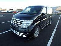 NISSAN ELGRAND E51 AUTECH RIDER S 4X4 * FULL LEATHER * 8 SEATER * LOW MILES *