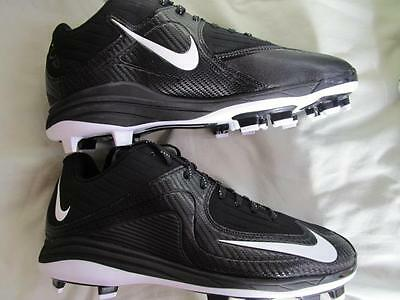 Nike Max Air Mvp Pro 2 Ii Mcs Baseball Cleats Spikes Various Black   White