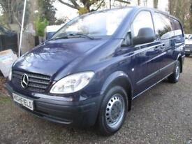 2007 Mercedes-Benz Vito 2.1CDi 111 LWB DURALINER/CREW 6 SEATER NO VAT 90000 MILE