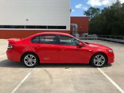 2008 Ford Falcon FG XR6 Red 5 Speed Auto Seq Sportshift Sedan Morayfield Caboolture Area Preview