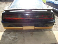 Parting out 1987 Trans am GTA