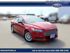 2015 Ford Fusion S 4dr Front-wheel Drive Sedan