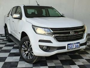 2017 Holden Colorado RG MY17 LTZ Pickup Crew Cab 4x2 White 6 Speed Sports Automatic Utility Victoria Park Victoria Park Area Preview