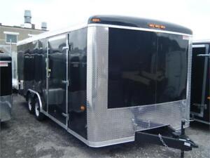 Enclosed Car / Auto Hauler - 20' X 7K Cap.  & 24' X 10K Cap.