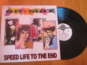 "a3 12"" vinyl record italo BIT MAX SPEED LIFE TO THE END prod M Pavesi Dig It ita - Italia - a3 12"" vinyl record italo BIT MAX SPEED LIFE TO THE END prod M Pavesi Dig It ita - Italia"