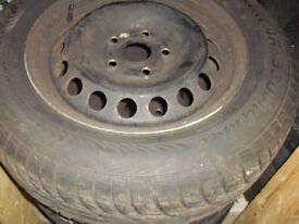 VW & Audi steel wheels and tyres