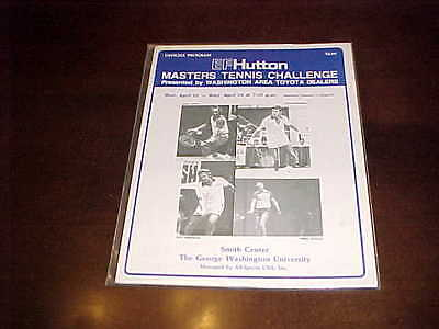 1985 Ef Hutton Masters Tennis Challenge Tournament