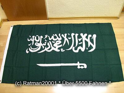 Fahnen Flagge Saudi Arabien Sonderposten - 90 x 150 cm