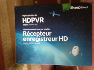 Shaw PVR and Receiver