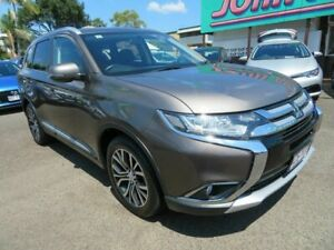 2017 Mitsubishi Outlander ZK MY17 LS 2WD Bronze 6 Speed Constant Variable Wagon