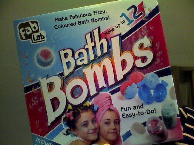 fab lab:BATH BOMBS maker