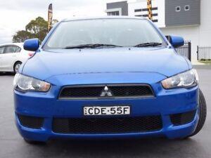 2011 Mitsubishi Lancer CJ MY11 ES Blue 6 Speed Constant Variable Sedan