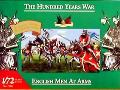 Soldatini 1/72 The Hundred Years War English Men-At-Arms- ACCURATE FIGURES 7206