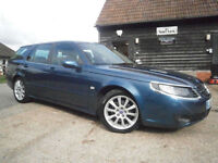 57 SAAB 9-5 2.3t VECTOR SPORT AUTOMATIC ESTATE/TOURING 63K FSH 8 STAMPS NEW MOT