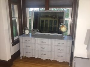 Beautiful Dresser and Night Tables