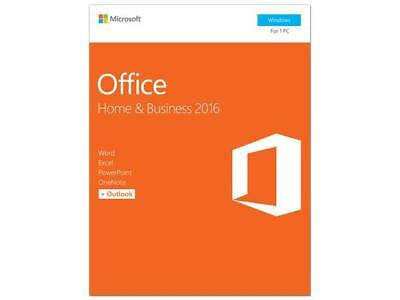 Microsoft Office Home And Business 2016 Product Key Card ...