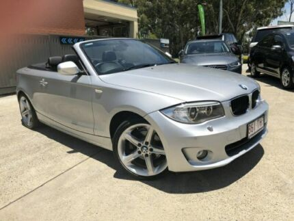 2012 BMW 118d E88 LCI MY1112 Steptronic Silver Semi Auto Convertible Southport Gold Coast City Preview