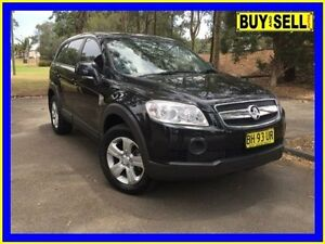 2009 Holden Captiva CG MY09 SX (4x4) Black 5 Speed Automatic Wagon Lansvale Liverpool Area Preview