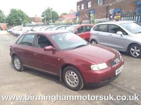 2000 (W Reg) Audi A3 1.6 AUTOMATIC 5DR Hatchback RED + LOW MILES