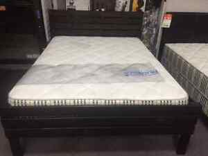 BLACK FRIDAY CLEARANCE ON SOLID WOOD CANADIAN MADE QUEEN  BEDS Kitchener / Waterloo Kitchener Area image 4