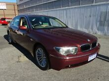 2003 BMW 735LI E66 Burgundy 6 Speed Steptronic Sedan West Perth Perth City Preview