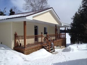 WATERFRONT HOME ONLY 20 min. from North Bay up Hwy 11 N.