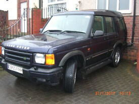 LANDROVER DISCOVERY TD5 1998 LONG MOT