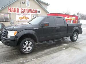 2010 Ford F-150 FX4 LEATHER SEATS & LEATHER FLOORS / CAR STARTER